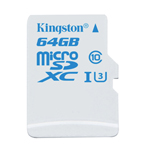Карты памяти Kingston MicroSD Action Camera UHS-I U3